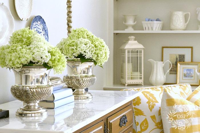 Decorar con hortensias guia de jardin - Decoracion con hortensias ...