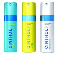 Buy Cinthol Rush and Dive with Play Deo Spray, 450ml at Rs. 326 :Buytoearn