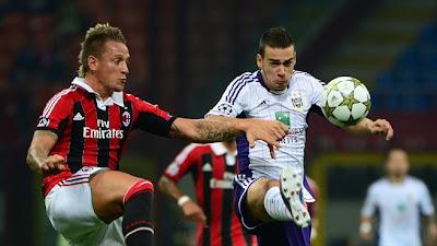 Anderlecht vs AC Milan