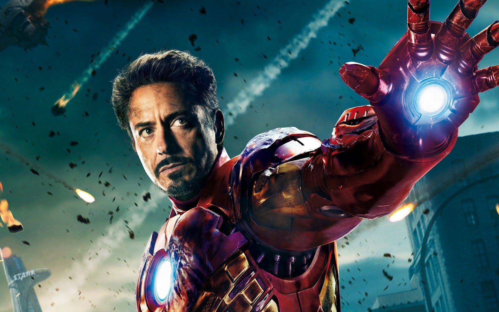Wallpapers hd iron man the avengers 2012