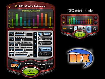 Hasil gambar untuk DFX Audio Enhancer