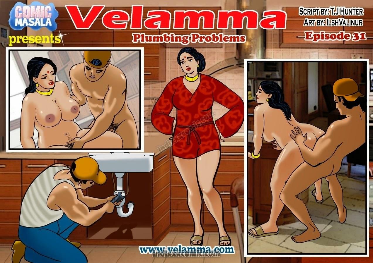 velamma episode 36 velamma episode 31 plumbing