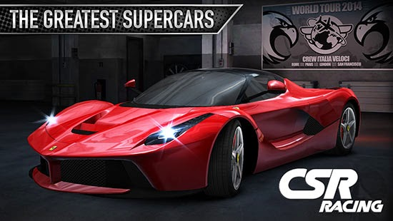 CSR Racing v2.4.0 Apk Data MOD