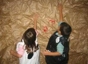 de actividades sala de 3 reproducciones de dibujos rupestres sala de