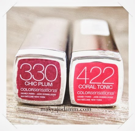 maybelline 422 coral tonic