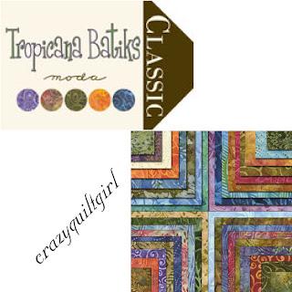 Moda TROPICANA BATIKS Quilt Fabric