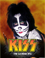 KISS - Catman Adult Wig