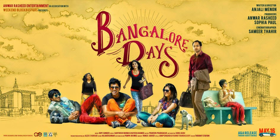 Bangalore Days Best Poster