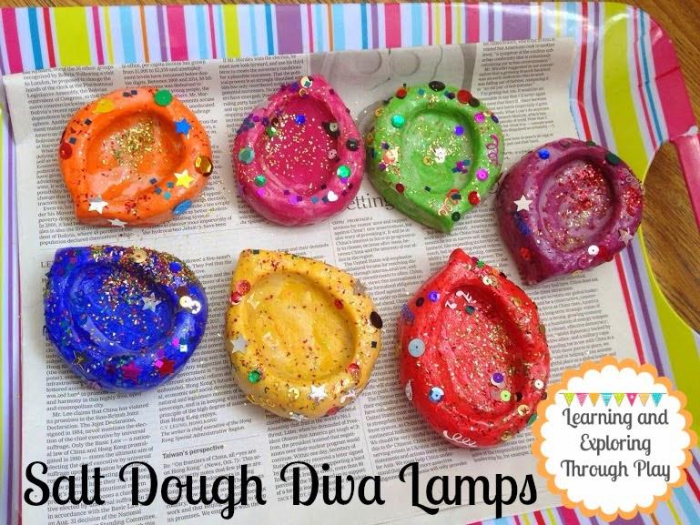 Salt Dough Lamps : Learning and Exploring Through Play: Salt Dough Diva Lamps