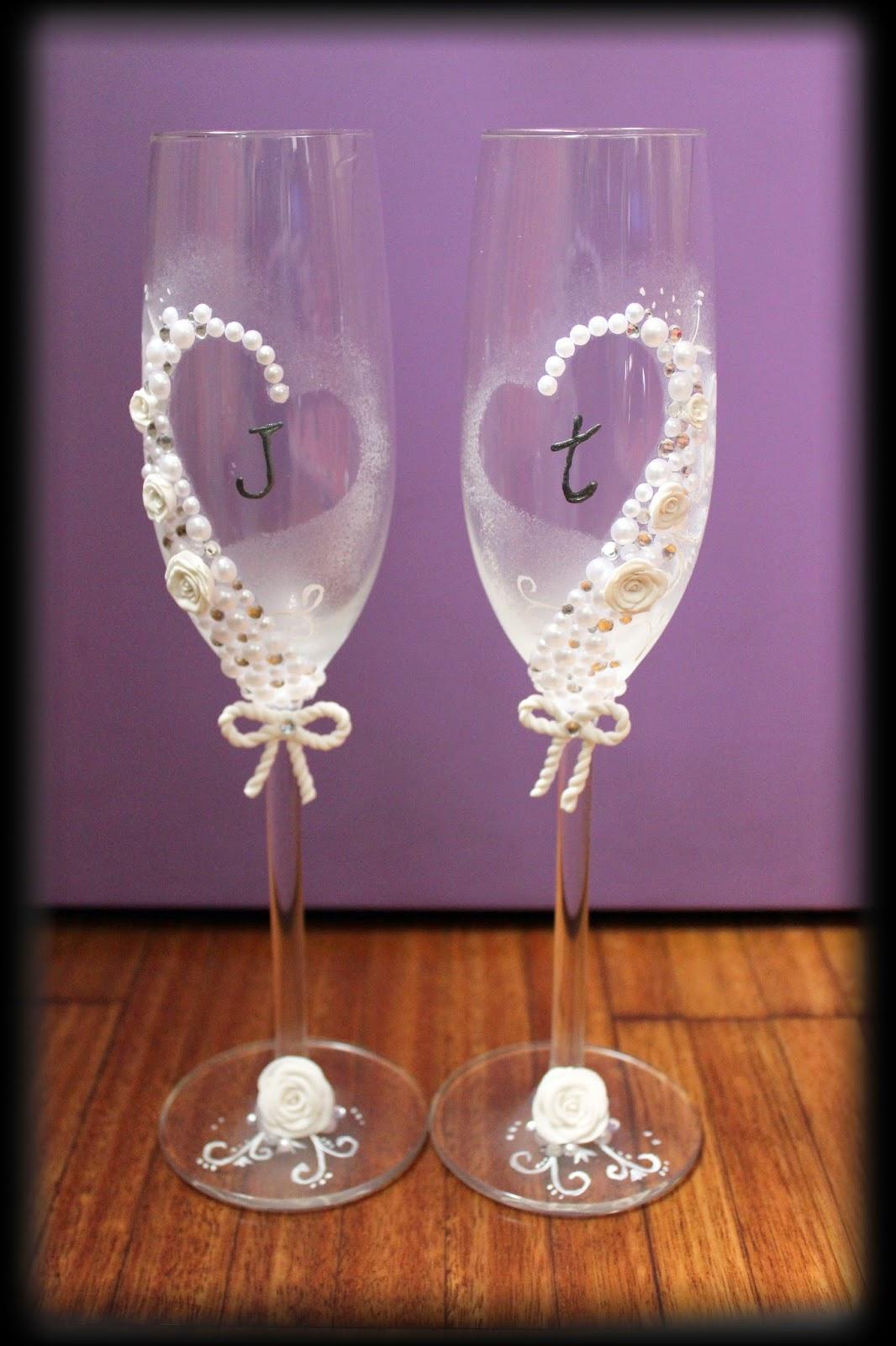 Tontunicas mc copas para bodas y cumplea os - Copas decoradas con velas ...