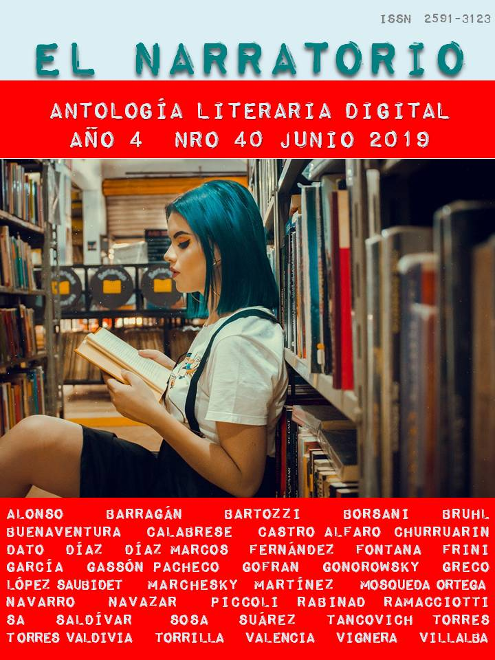 EL NARRATORIO  ANTOLOGÍA LITERARIA DIGITAL NRO 40
