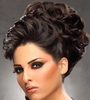 stunning arabic bridal hairstyles