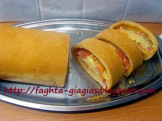 Πίτσα με αφράτη ζύμη σε φόρμα - Τα φαγητά της γιαγιάς