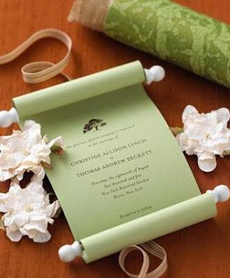 Imagens e dicas de Convites de Casamento Modernos