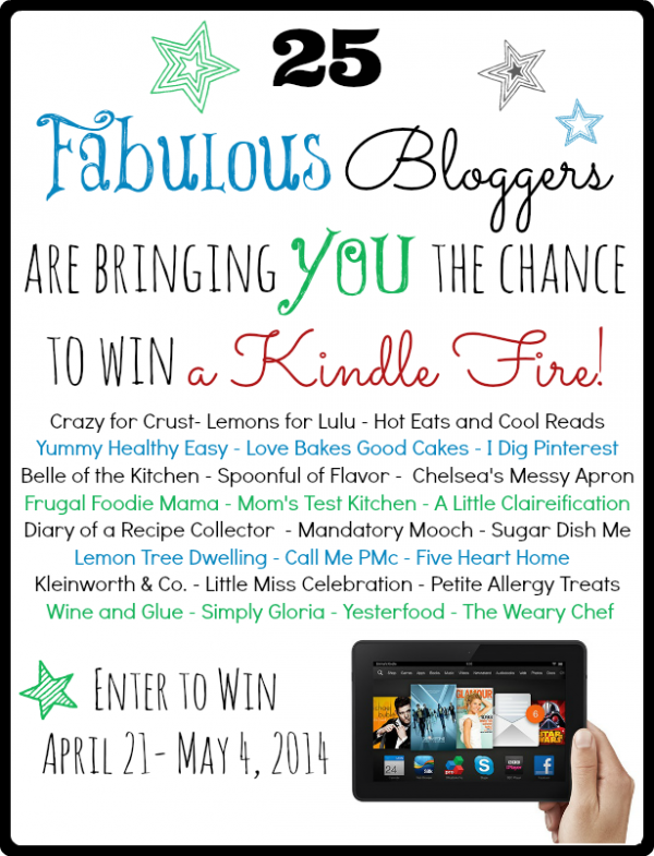 25 fabulous bloggers to follow & a kindle fire giveaway
