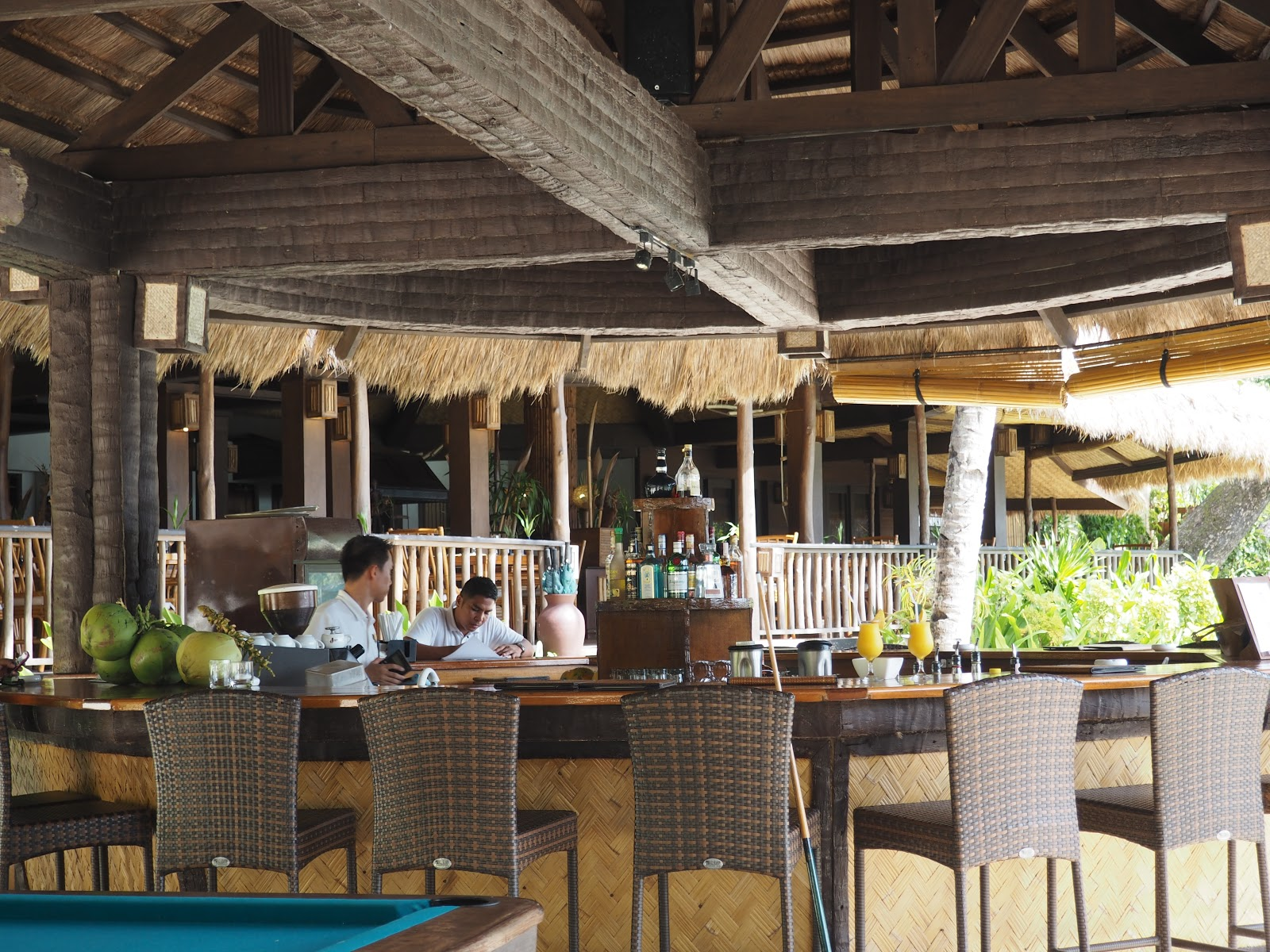 Beach Bar, El Nido Resort