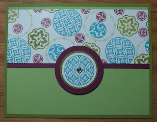 Card made with Stampin'UP! stamp set: Circle Circus.