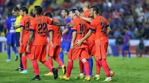 Levante 0 - 5 FC Barcelone # All Goals
