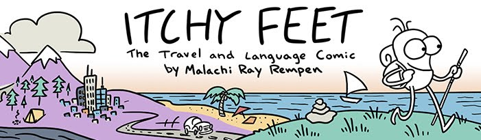 Itchy Feet: the Travel and Language Comic