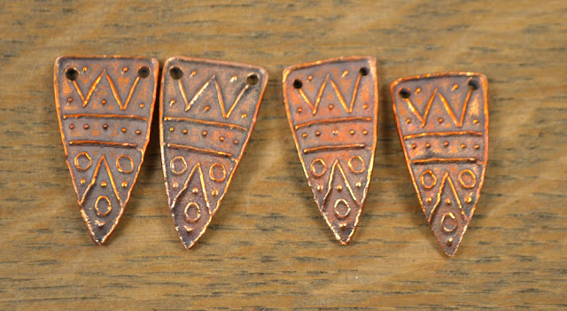 Handmade Copper Shard Arrowhead Kristi Bowman Design