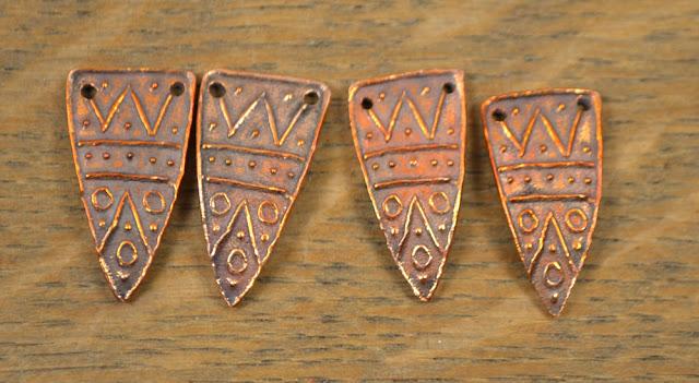Handmade Copper Shard Arrowhead Kristi Bowman Design
