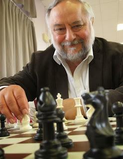 Anatoly Vaisser au championnat du monde d'échecs véréran 2014 - Photo © Le Parisien