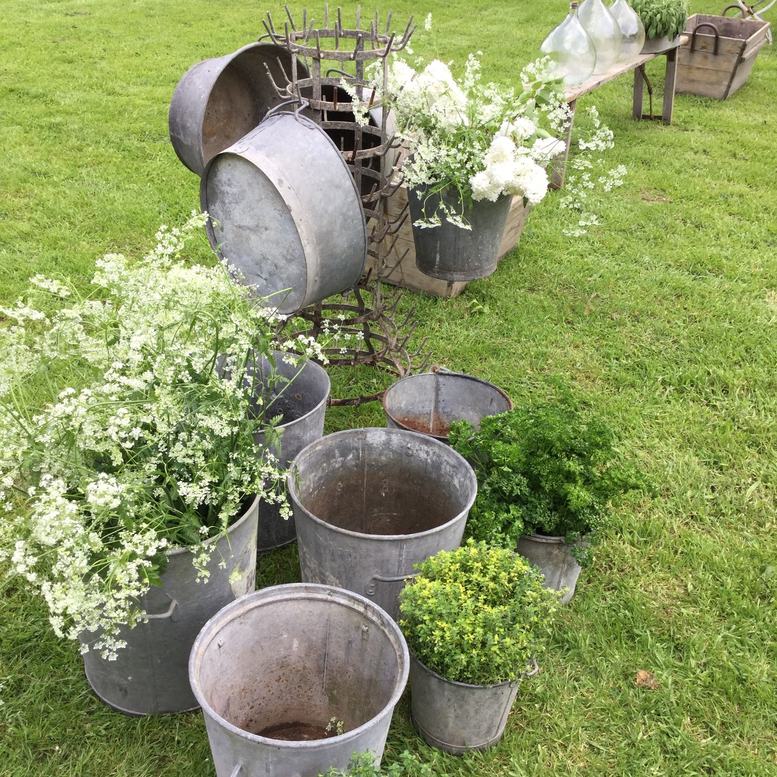 Brocante au jardin le blog du goumy for U jardin