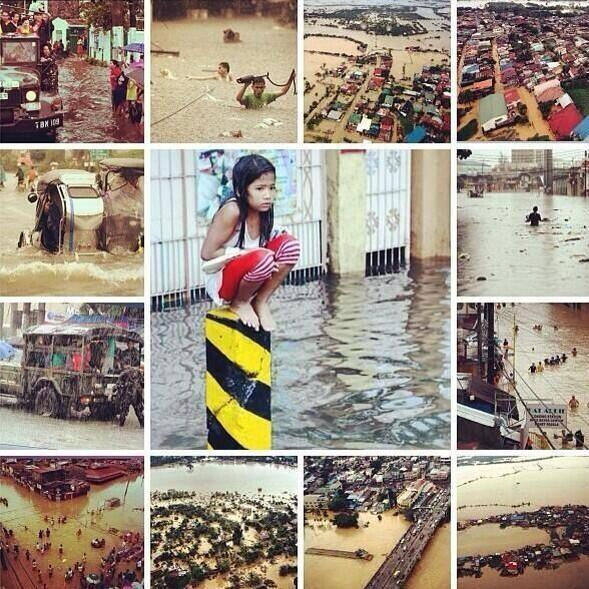Habagat, Maring Floods in Metro Manila August 20-2013