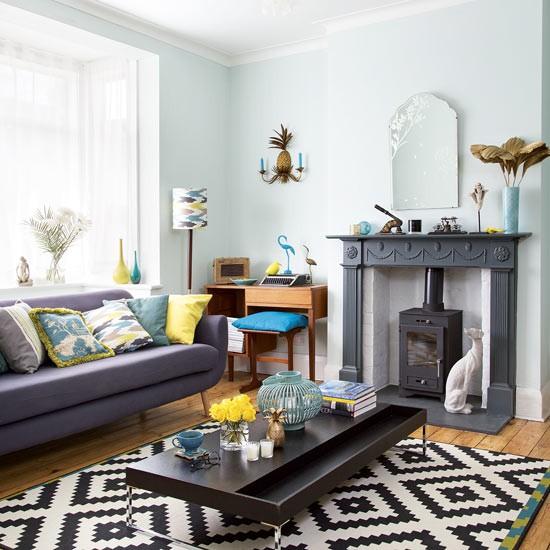 die wohngalerie gelb und t rkis die erfrischende farbkombination f r jeden einrichtungsstil. Black Bedroom Furniture Sets. Home Design Ideas