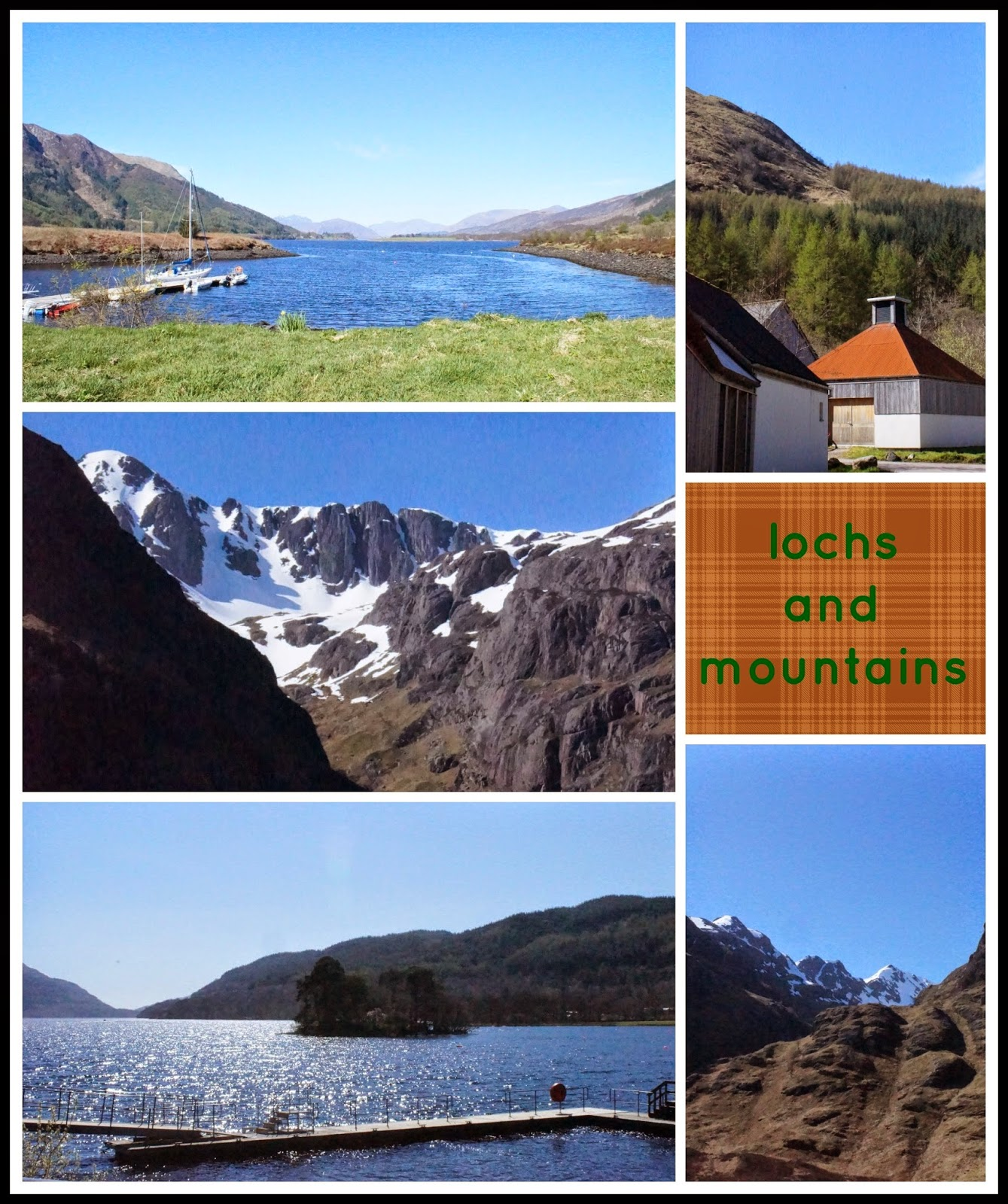 Lochs and Mountains - 'growourown.blogspot.com' ~ An allotment blog