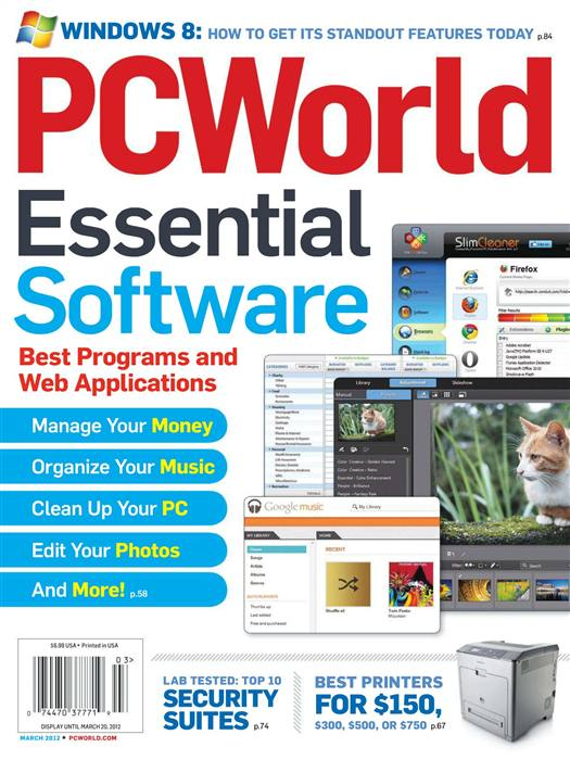 PC World Essential Software Magazine - March 2012