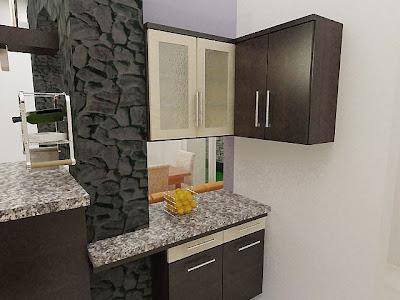 tips menata dapur sempit dan mungil