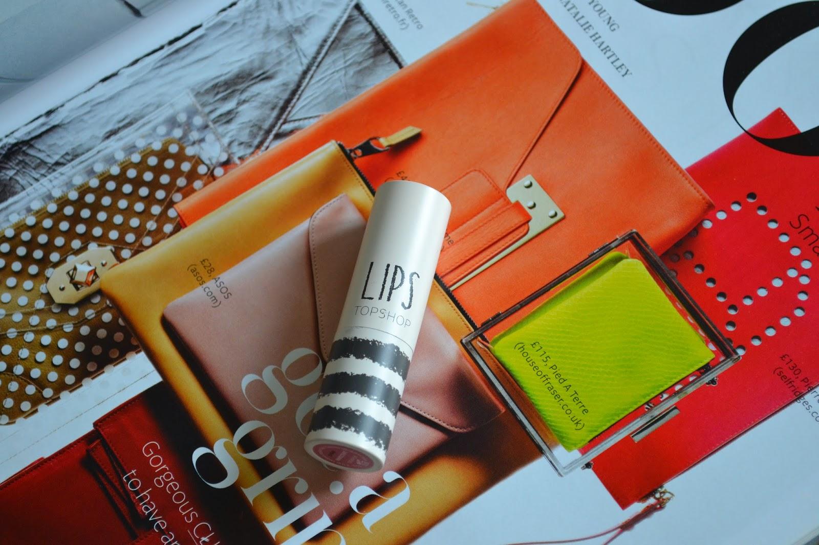 Topshop Lipstick in Innocent Review + Swatch - Aspiring Londoner