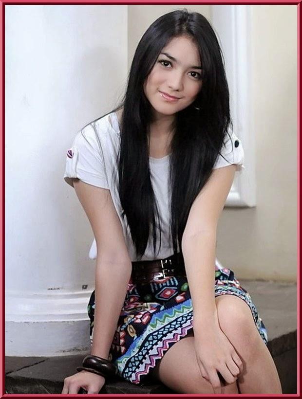 wanita tercantik di indonesia foto cewek cantik 2014