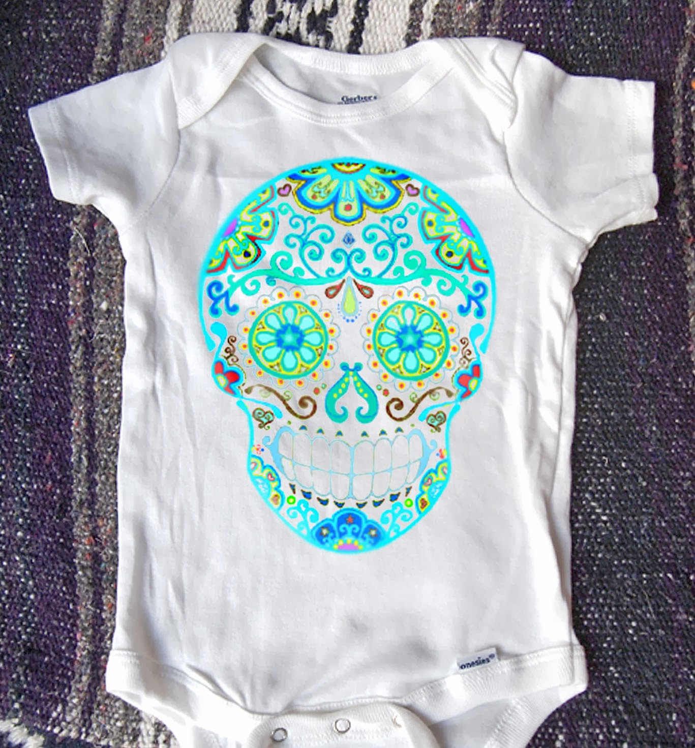 Sherri Bones Nelson Baby You Have STYLE Rockin Day of the Dead