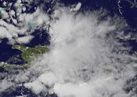 Tropische Welle erreicht Dominikanische Republik, Dominikanische Republik, Hispaniola, Puerto Rico, Kuba, aktuell, Hurrikansaison 2012, Wettervorhersage Wetter, August, 2012, Karibik, Atlantische Hurrikansaison,