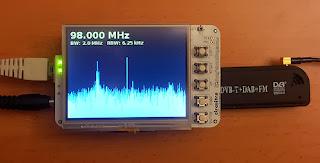 Analisador de espectro com BeagleBone