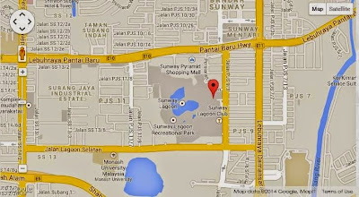 Peta HQ baru di Pinnacle