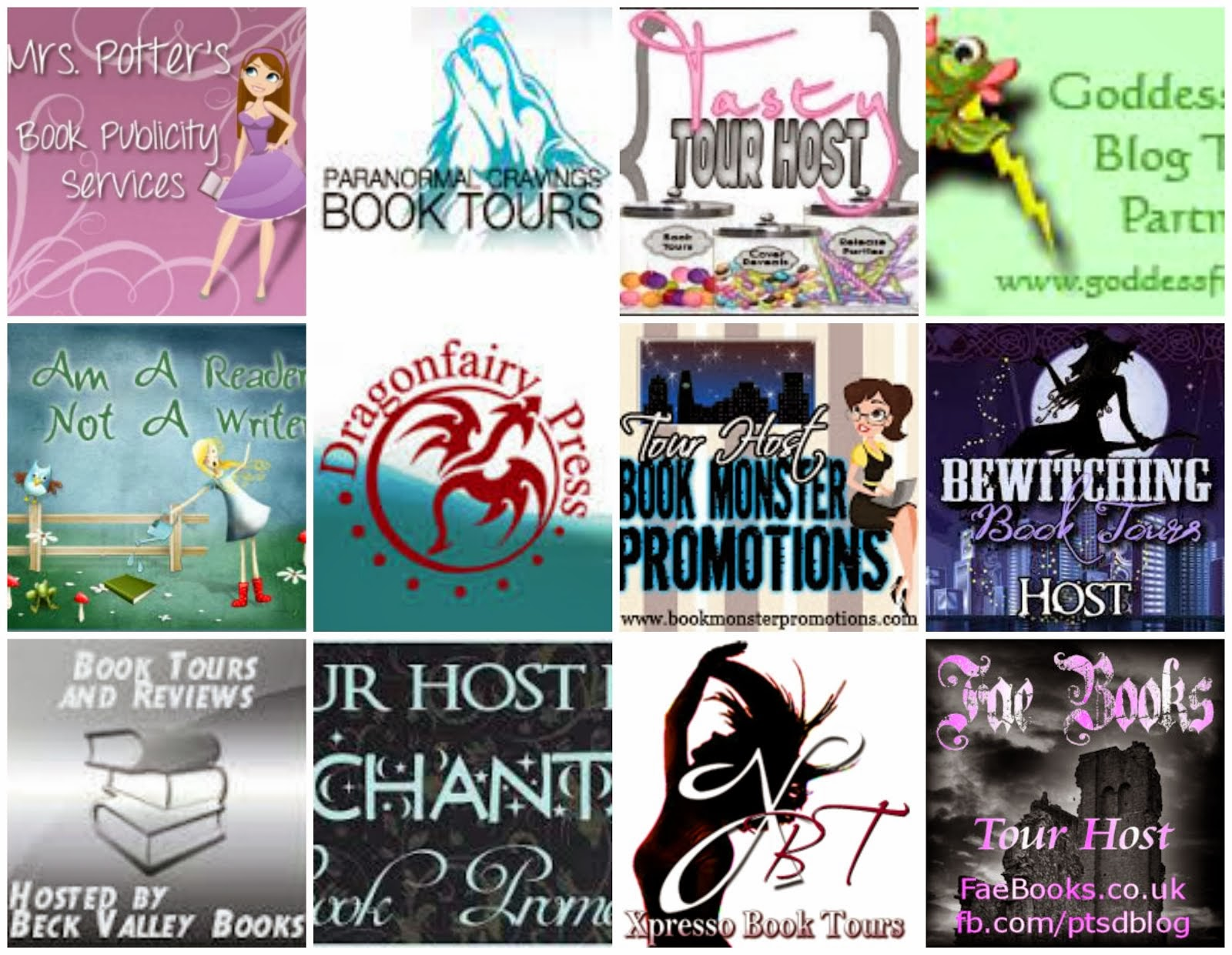Book Tours I Host For...