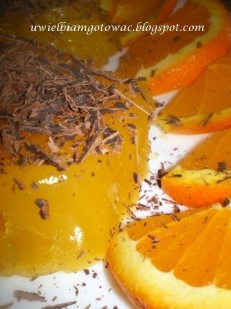Pomarańczowa galaretka