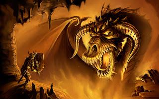 Viking Vs Big Dragon