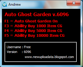 Auto Ghost Garden v.6096 By Andrew