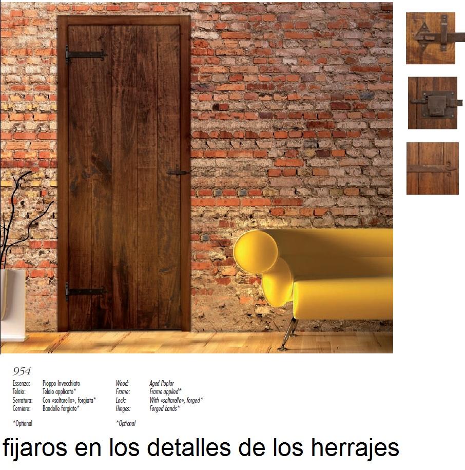 Made of wood puertas rusticas serie antiqva - Puertas de cocina rusticas ...