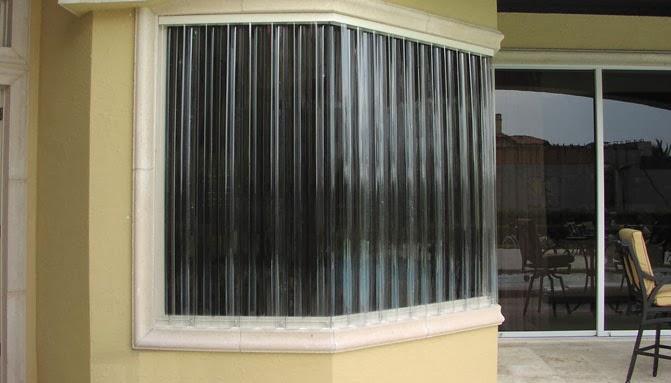 Polycarbonate Window Panels : Shutter shack lexan hurricane panels secure and stylish