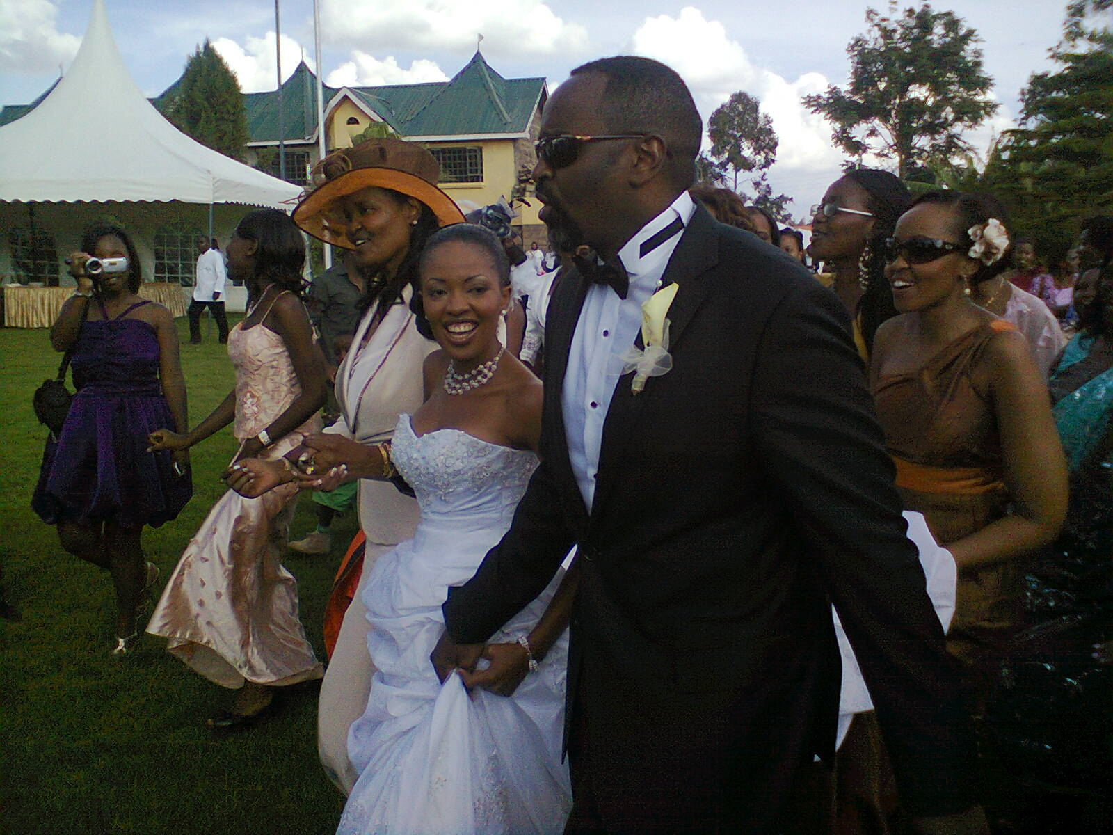 Kambua and jackson wedding
