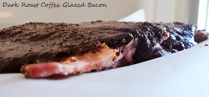Dark Roast Coffee Glazed Bacon #ChooseSmart #cbias #shop