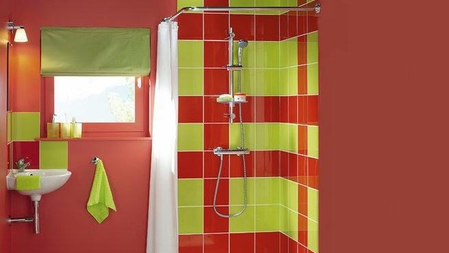 Red And Green Bathroom Design Ideas ~ Bathroom tile designs top design ideas for inspiration