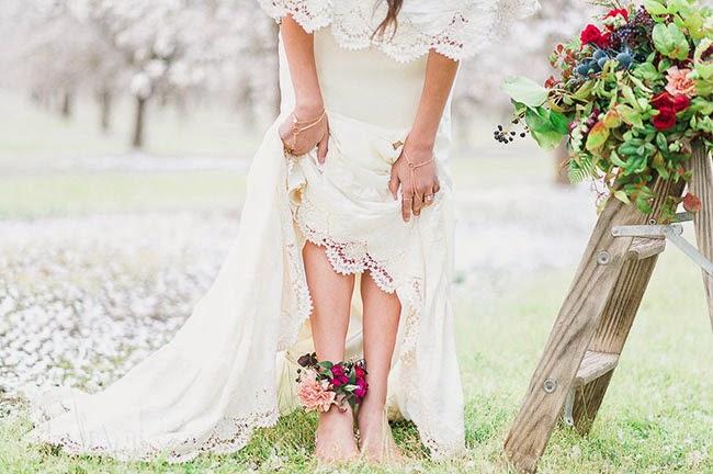 Linda boda campestre | Ideas perfectas para lucir radiante