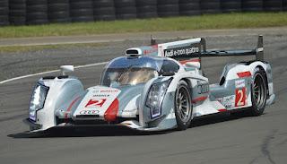 Audi R18 e-tron quattro Team Joest Tag Heuer n°2