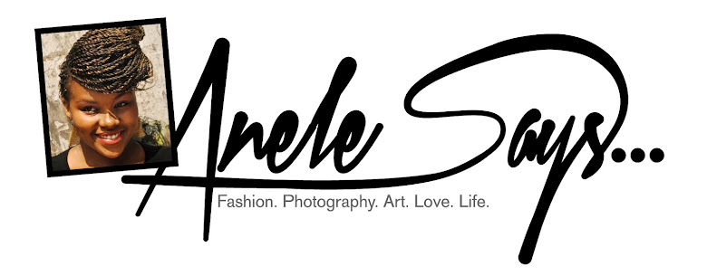 Anele Says...
